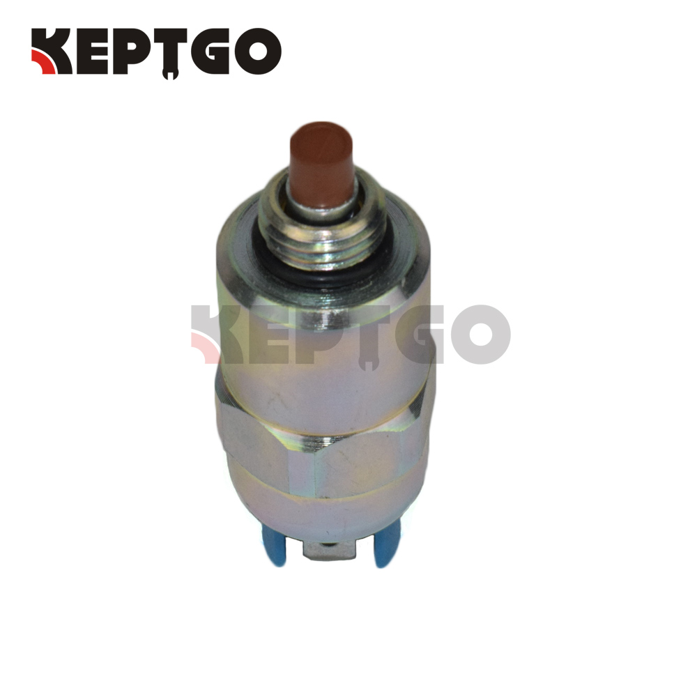 12V Fuel Pump Solenoid 26420469 for Perkins Engine 1004-4 1004-42 903-27 1104D-44 1104C-44 1006-6 1006-60 D3.152