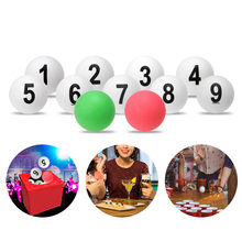12pcs Table Tennis Balls Numbered Ping Pong Balls Entertainment Game ABS 40mm Diameter 2g /pc Table Tennis Ball(China)