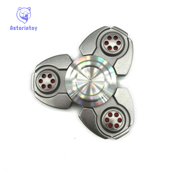 Creative Ceramic Tri-Spinner Fidget Toy EDC Hand Spinner