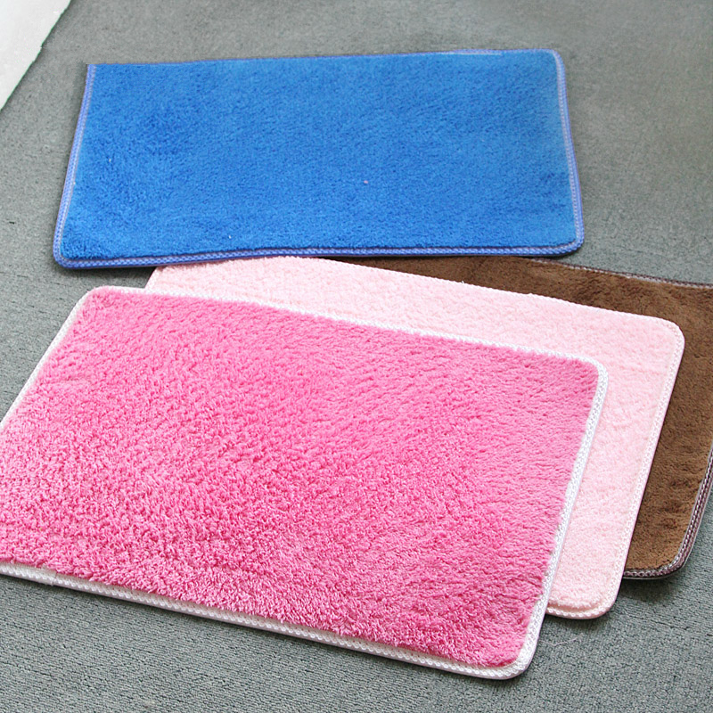 Perfect New Brown Pink Gray Solid Mats For Bathroom And Toilet , 1 PCS Cheap  Anti Slip Bath Mat Toilet Carpet , Bathroom Rugs Tapetes