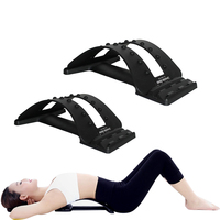 Multi Level Back Massage Stretching Magic Back Support Stretcher Plus Waist Relax Mate Device Fitness Equipment