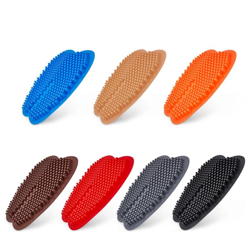 3D Pillar Car Seat Covers <font><b>Cushions</b></font> Massage High Memory Silicone Breathable Mesh Silica Gel
