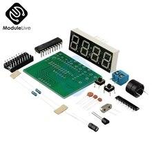 1SET AT89C2051 Digital LED Display 4 Bits Electronic Clock Electronic
