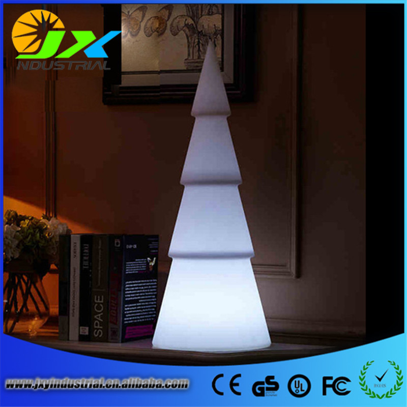 led Christmas tree decoration / LED PE plastic trees led furniture trees