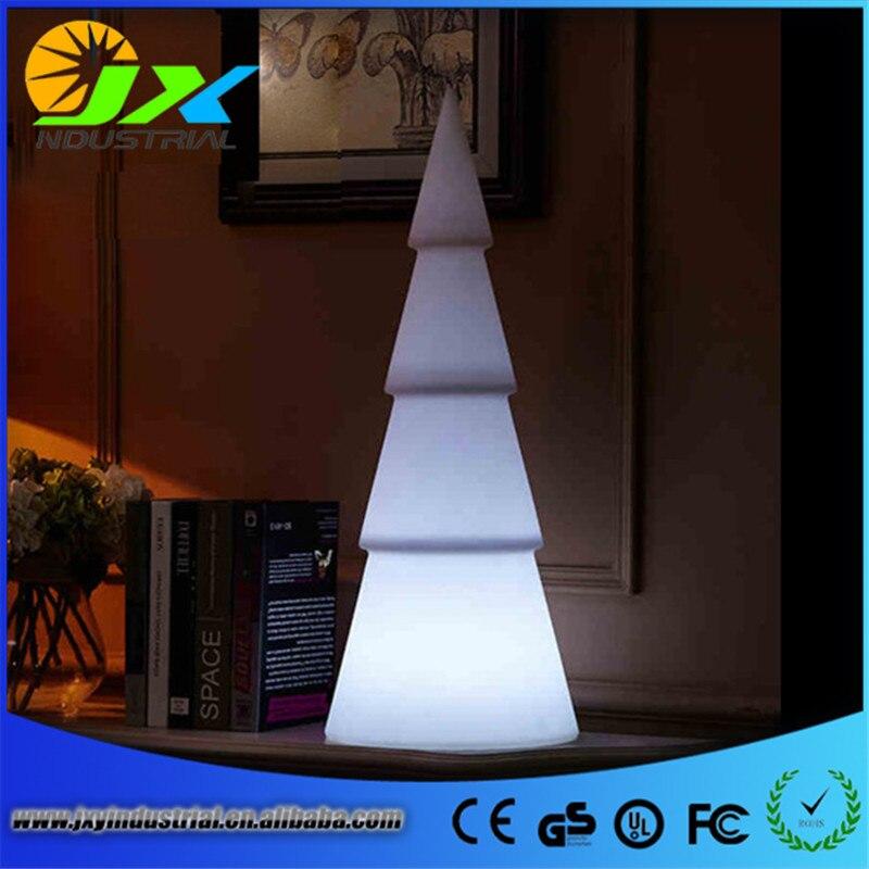 led Christmas tree decoration / LED PE plastic trees led furniture trees