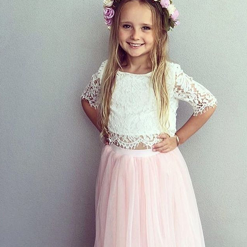 Little Girl Lace Frocks Dress Baby Children's Clothing Kids Dresses For Girls Summer Clothes Tutu Party Gown Vestidos Robe Fille