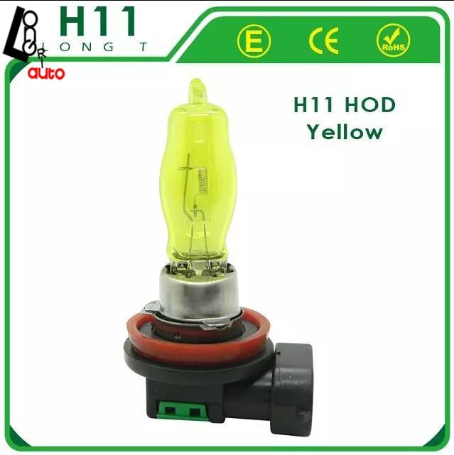2 x H11 HOD 12V 3000K 100W Злато жълто - Автомобилни светлини - Снимка 1