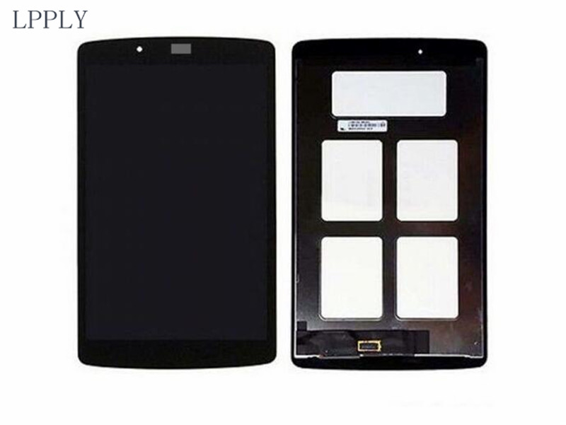 LPPLY LCD assembly For LG G Pad 8.0 V480 V490 LCD Display Touch Screen Digitizer Glass Free Shipping for alcatel one touch idol 3 6045 ot6045 lcd display digitizer touch screen assembly free shipping 10pcs lots free dhl