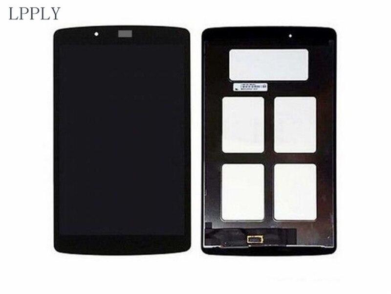 Lpply ЖК-дисплей сборки для LG G Pad 8.0 V480 V490 ЖК-дисплей Дисплей Сенсорный экран планшета Стекло Бесплатная доставка