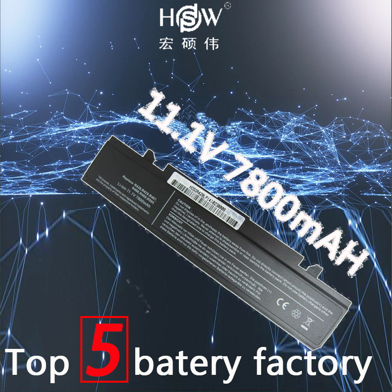 HSW 7800mah Battery for Samsung AA PB9NC6B AA PB9NC5B AA PB9NS6W NP350E5C Q320 Q430 RC710 RV420 R428 RV520 RV540 NP R530 NP R548 in Laptop Batteries from Computer Office