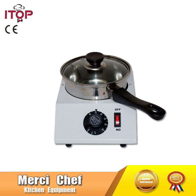Food Mahcine Chocolate melting machine Commercial Digital Electric Chocolate melting pot for Heating Hot Stove fast shipping food machine 6 layers chocolate fountains commercial chocolate waterfall machine with full stainless steel