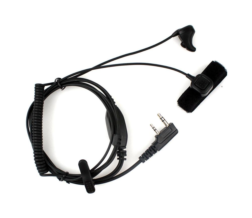 NEW Ear Bone Vibrate Noise-reducing Earpiece for QUANSHENG WOUXUN BAOFENG UV5R oem 144 430 na 519 sma walkie talkie baofeng 3r wouxun kg uv6d 985 na 519