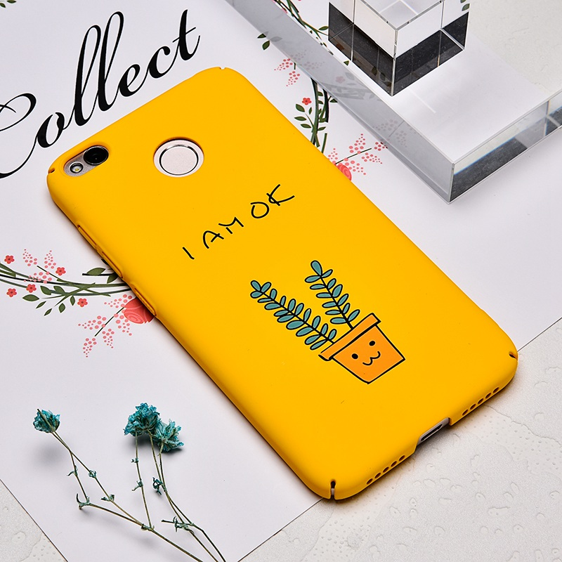 TOMKAS Cute PC Case For Xiaomi Redmi 4X Note 4X Mi A1 Cases Cover Back Patterned Matte Phone Case For Redmi 4X 5.0 Inch (2)