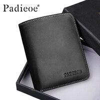 Padieoe Famous Brand Men's Mini Wallet New Design Luxury Men Wallet Portable 2017 Fashion Card Holder Casual Purse for Male
