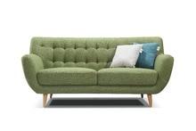North Europe Modern living room fabric sofa furniture 3 2 1 seat love seat 1568