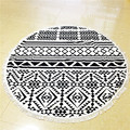 Round Beach Towel With Tassels Cotton Printed Indian Mandala Round Roundie Beach Towels Circle Yoga Mat