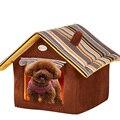 Linda Casa de Perro cama del animal Doméstico Cama Caliente Suave Perrera Perros Saco de dormir Cama Del Gato Gato de la Casa Casa de perro Mascota Cama Perro