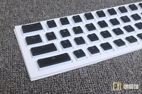 104 Keys Double Shot PBT Backlighting Through Shine LED Translucent OEM Mechanical Keyboard Keycap ANSI 104