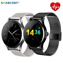 Smarcent K88H Smart часы отслеживать наручные часы bluetooth сердечного ритма Мониторы шагомер набора SmartWatch телефон для iOS и Android