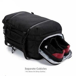 Image 3 - OZUKO sac à dos hommes voyage pack étanche sac ordinateur portable mâle école bagages USB grande capacité multifonctionnel femmes antivol