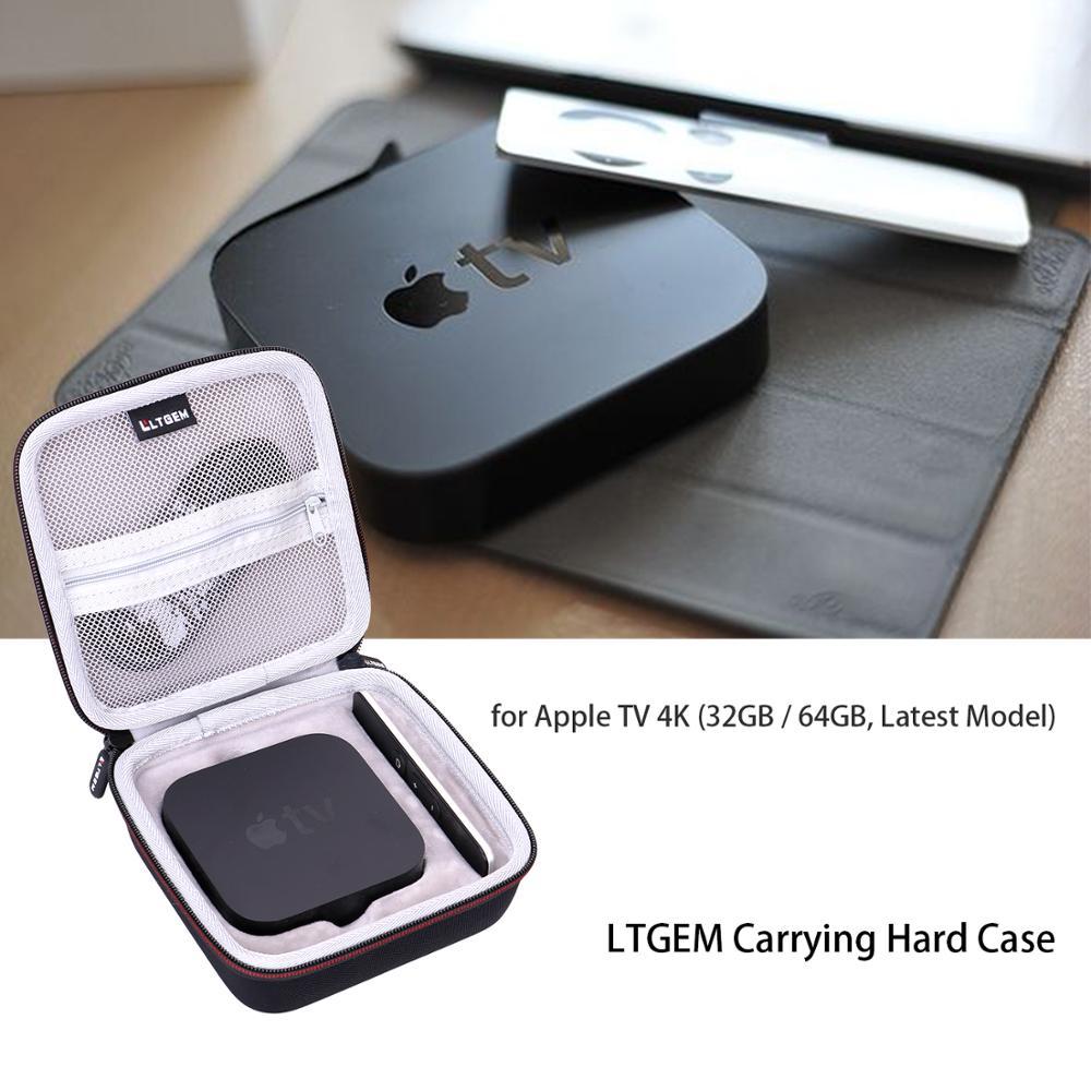 LTGEM EVA Black Carrying Case For Apple TV 4K(32GB/64GB,Latest Model)