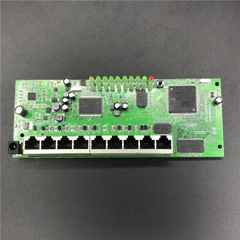 Poe-Router-Module Full-Gigabit OEM Wired 4 10/100/1000m 9-Port 48V2A T-Sell Manufacturer