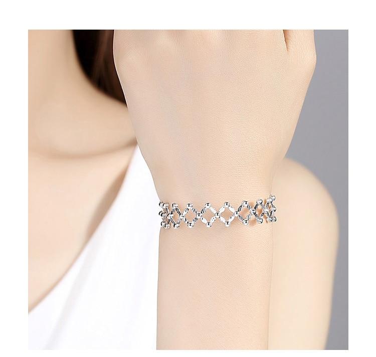 Bagues de fiançailles bijoux de marque de mode pour femmes S925 bague en argent sterling déformée 925 bagues d'amour en argent sterling - 5
