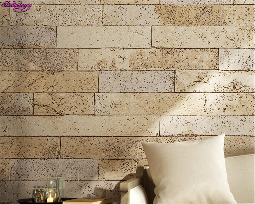 beibehang 3D brick wallpaper PVC antique brick wall 3d wallpaper Chinese retro restaurant background papel de parede wall paper beibehang 3d brick wallpapers antique brick brick wallpaper chinese nostalgia restaurant hotel backdrop retro vintage wallpaper