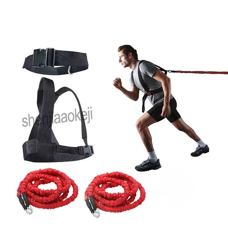 2 Meters DoubleTraining Resistance Rope Band Latex Bungee Bounce Trainer Pull Rope For Explosiveness Training Home Workout 1pc