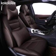 Kokololee จริงที่กำหนดเองหนังรถยนต์สำหรับ Nissan Qashqai J10 Almera N16 หมายเหตุ X Trail T31 Patrol Y61 teana J31 รถ จัดแต่งทรงผม