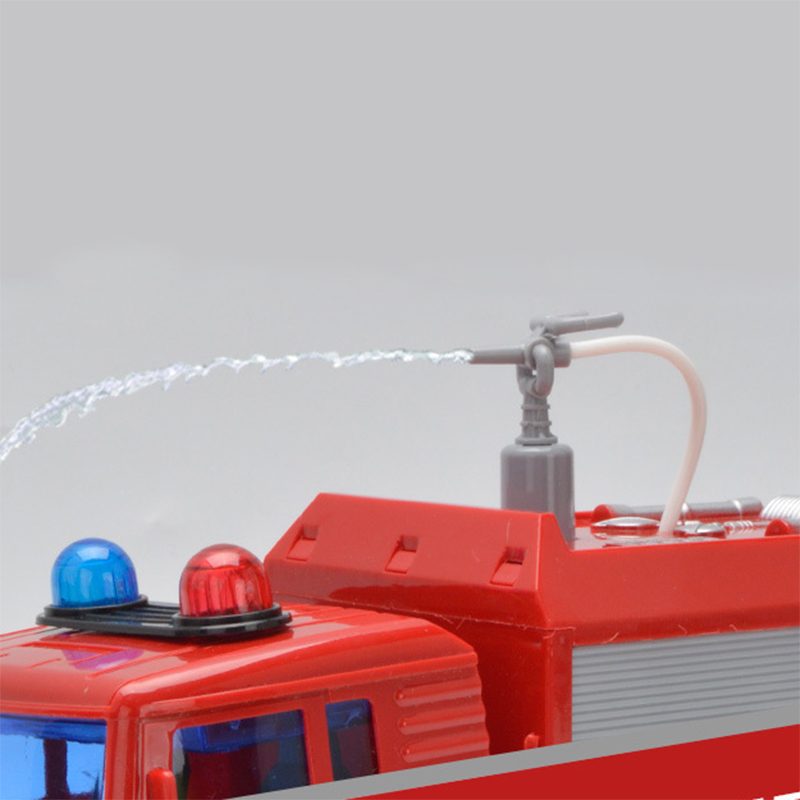 Toys & Hobbies 1 Piece Fire Truck Fireman Vehicle Car Pull Back Toy Car Model Educational Toys Boy Kids Toy Warm And Windproof