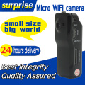 New Clip MD81 MD81S Mini Digital DV Wireless Wifi IP Camera Surveillance Remore Camcorders Black
