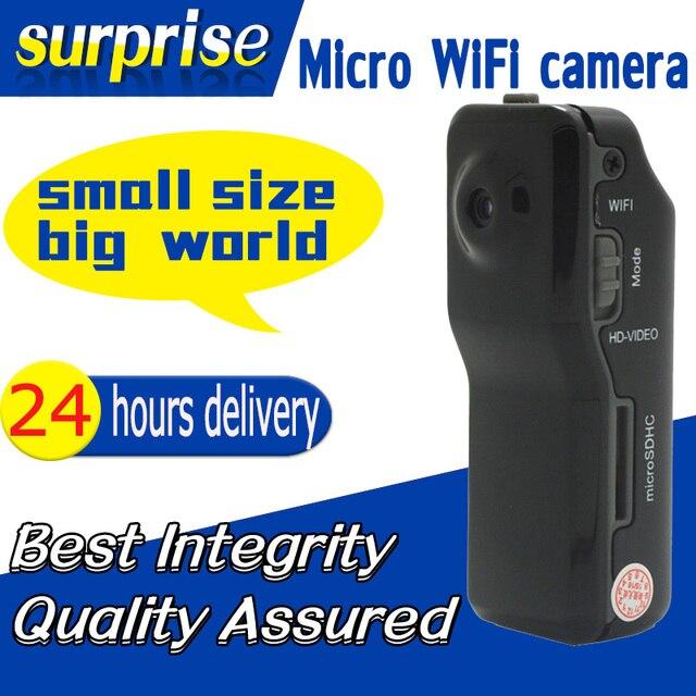 New Clip MD81 MD81S Mini Digital DV Wireless Wifi IP Camera Surveillance Remore Camcorders Black