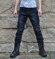 2017 New Winter Cashmere Of Super Fit Jeans D Kevlar Jeans Motorcycle Jeans Denim Broek Blauw