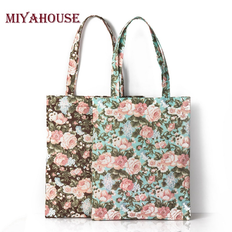 Grote Canvas Strandtas : Miyahouse new fashion women designer handbags high quality