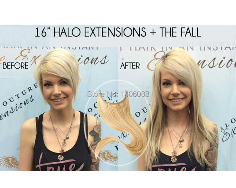 Halo hair extensions las vegas om hair aliexpress grade 6a silk straight 1pc 8 28inch brazilian remy hair flip in extensions halo from pmusecretfo Gallery