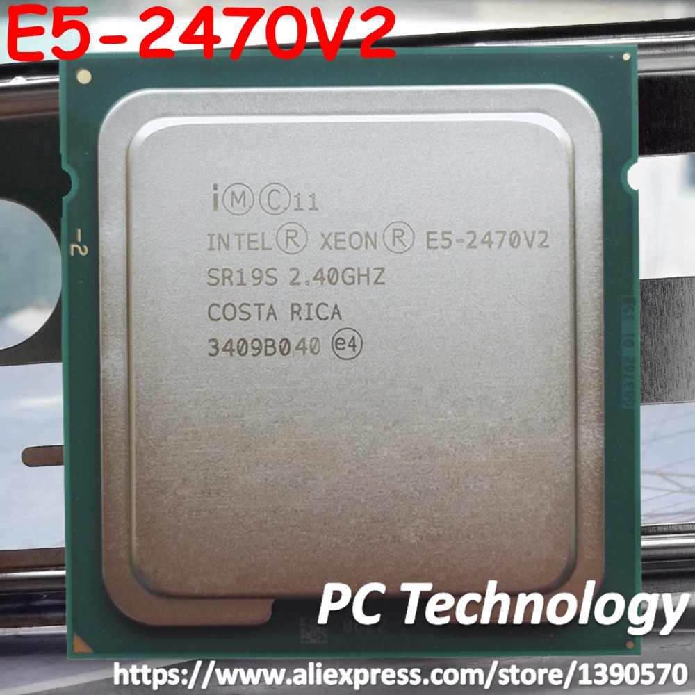 The best LGA1356 Intel Xeon E5-2470V2 CPU E5-2470 V2 2.40GHz 10-Core 25MB E5 2470V2 processor E5 2470 V2