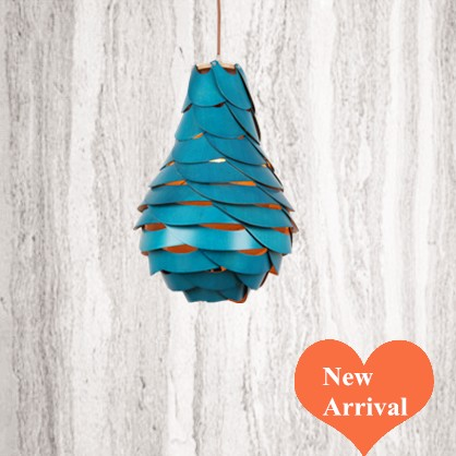 2016 creative novelty blue shade Ply-Wood chips Chandelier E27 led floral lamp indoor lamp for stairs&corridor&pavilion BT292 2016 creative novelty blue shade ply wood chips chandelier e27 led floral lamp indoor lamp for stairs