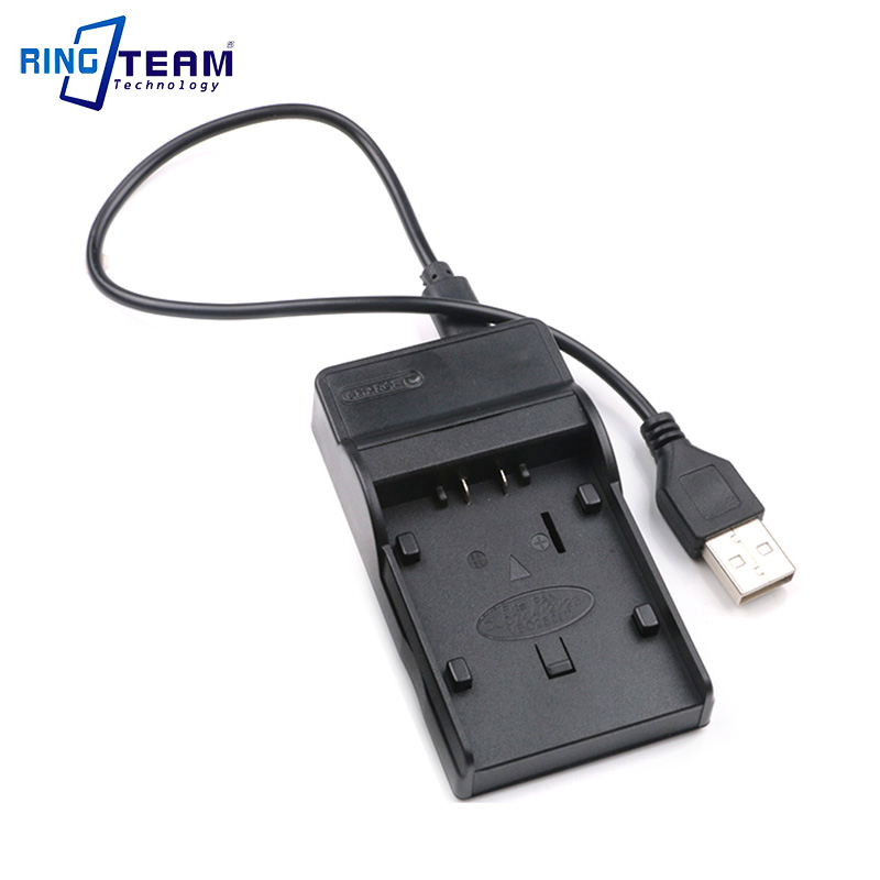 USB Charger for Battery VW-VBD070 CGA-DU07 for Panasonic VDR M95 M75 M74 M70 M55 M54 M53 M50 M30 M250 D400 D310 D308 D300 D258 ...