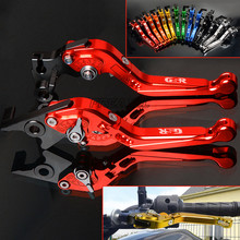 Folding Extendable Adjustable CNC Motorbike Motorcycle Brake Clutch Levers For SUZUKI GSR600 GSR750 GSR 600 750 цена и фото