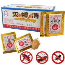 10PCS/Lot Effective Killer Cockroach Powder Bait Special Insecticide Bug Beetle Cucaracha Medicine Insect Reject Pest Control(China)