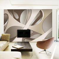 Custom 3d muurschildering 3D geometrische aangepaste sofa behang woonkamer TV studeerkamer behang mural