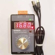 Аналоговый 0-5 в 0-10 в 4-20 мА генератор сигналов с перезаряжаемой батареей Карманный Регулируемый имитатор напряжения тока LB01G калибратор