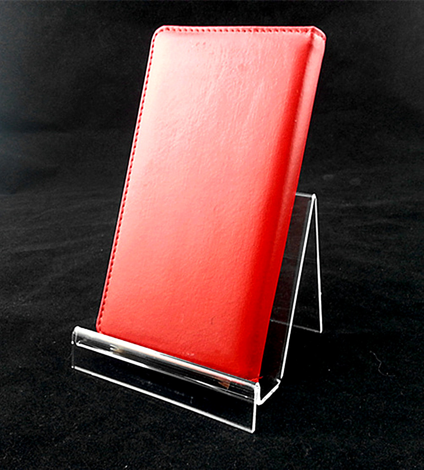 Exhibition Stand Night Sheet : One tier w cm acrylic purse wallet bag iphone book