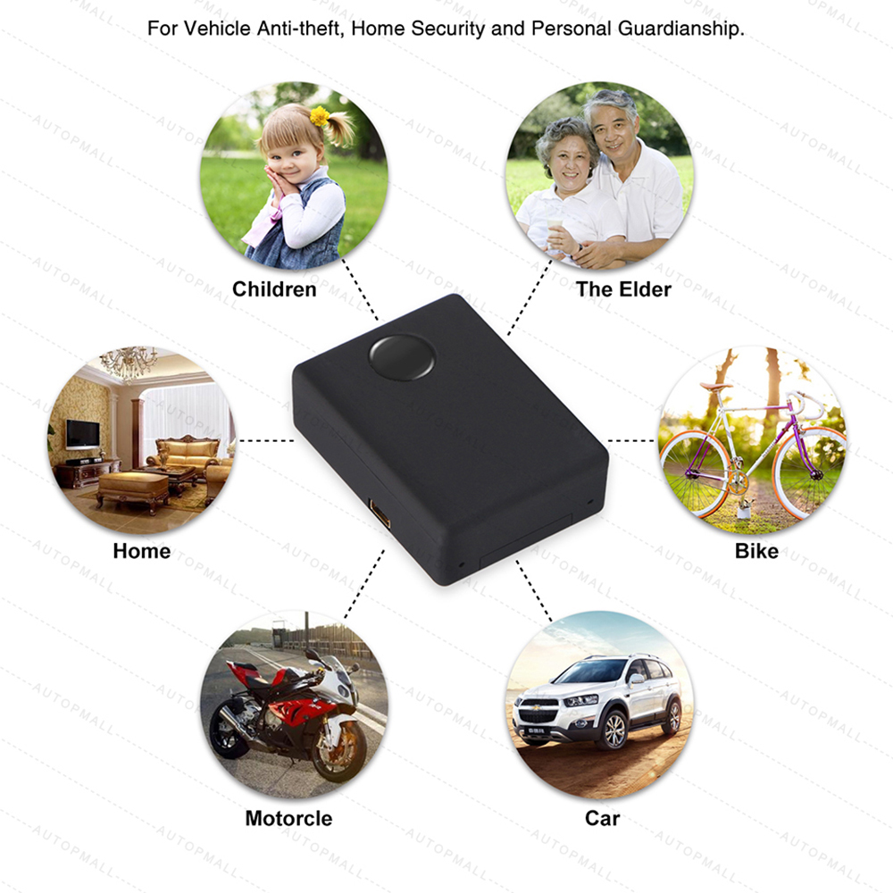 Image 4 - N9 Mini GSM Device Audio Monitor Spy Listening Surveillance Personal Mini Voice Activation Built in Two MIC 12 Days Standby Time-in GPS Trackers from Automobiles & Motorcycles
