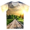 2016 verano hombres mujeres imprimir camiseta Oreo / Galaxy Panda / flecha / Eagle T-Shirt de diseño a estrenar Camisetas de cuello redondo Casual Tops ropa