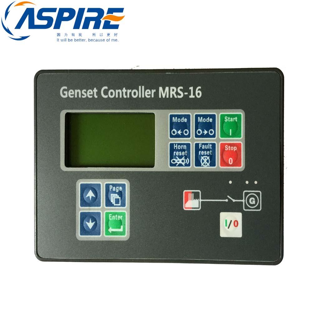 Automatic Genset Controller MRS16 Generator Auto Start Control Module hgm410 smartgen genset generator controller automatic engine control module