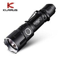New KLARUS XT11GT CREE XHP35 HI D4 LED 2000 Lm 4 Mode Tactical Led Flashlight + Free USB Port and 18650 Battey for Self Defence