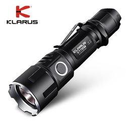 Nieuwe KLARUS XT11GT CREE XHP35 HI D4 LED 2000 Lm 4 Modus Tactische Led Zaklamp + Gratis USB Poort en 18650 Battey voor Zelfverdediging