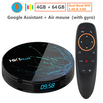Transpeed Android 9,0 Smart tv BOX Google Assistant S905X2 4G 64G, 4 K Wifi 2,4G & 5,8G медиаплеер Play Store быстрый набор верхней коробки